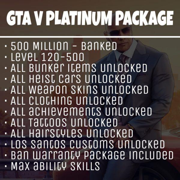 GTA 5 Account Boost 5