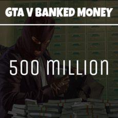 GTA 5 Online Money 500 Million