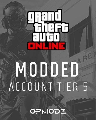 GTA 5 modded account tier 5