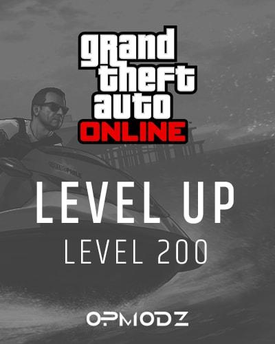 GTA 5 level up 200