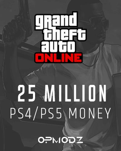 25 Million PS4/PS5 Money