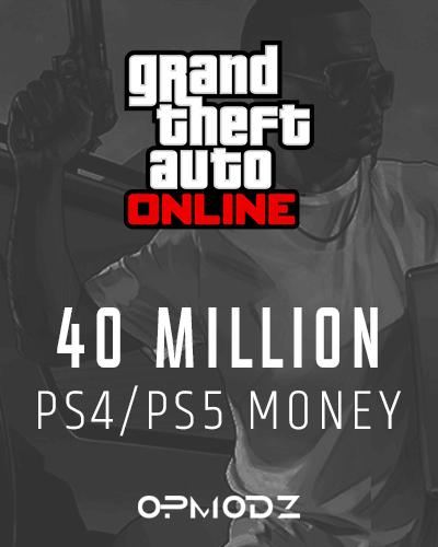40 Million PS4/PS5 Money