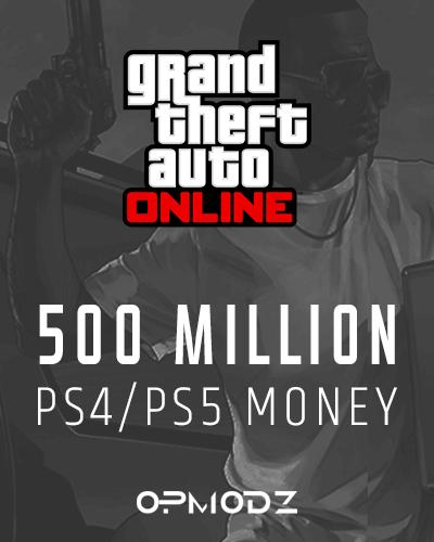 500 Million PS4/PS5 Money