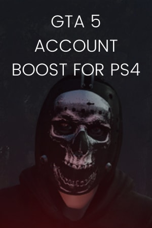GTA 5 ACCOUNT BOOST PS4