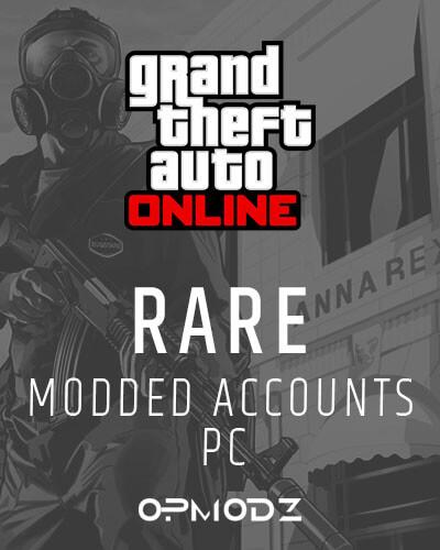 GTA 5 Rare Modded Accounts